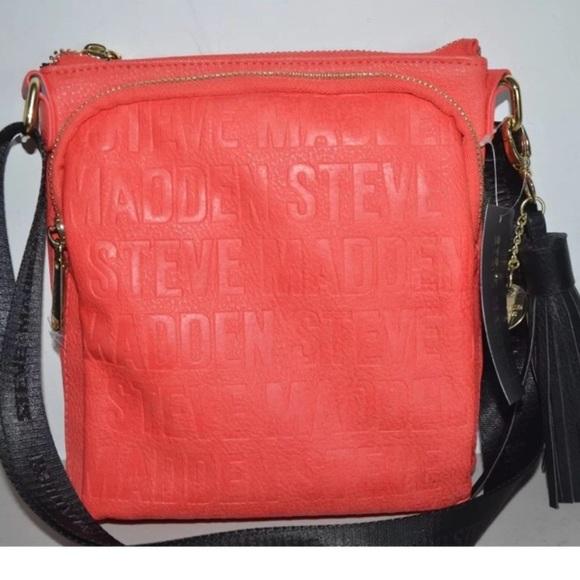 30e681bc6a1 Steve Madden Bags   Authentic Stevemadden Bglam Logo Crossbody Bag ...